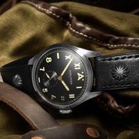 Mens Watches Swiss Brand AGELOCER Luxury Watch Luminous Men 316L Stainless Steel Mechanical Watch Male Clock Relogio Masculino