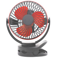 Summer Must Mini Multi function Clip Fan USB Four speed Adjustable Rechargeable Handheld Fans