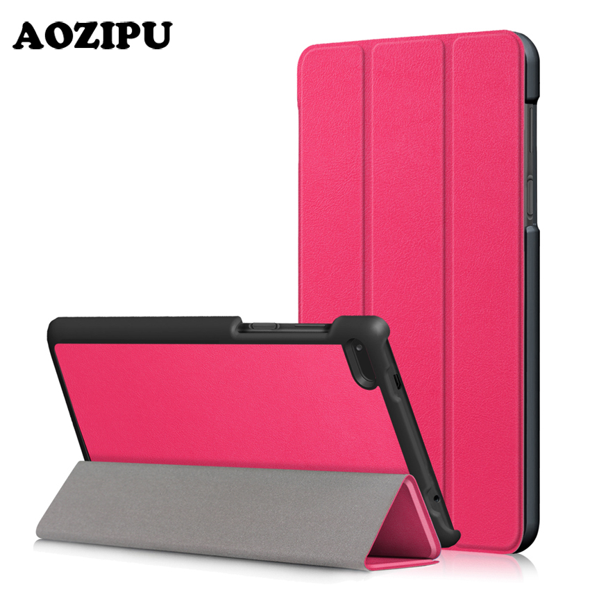 Magnet Case for Lenovo Tab 7 Essential TB-7304F TB-7304I TB-7304X 7 PU Leather Flip Stand Cover for Lenovo Tab4 7 Essential slim fit stand feature folio flip pu hybrid print case for lenovo tab 3 730f 730m 730x 7 inch