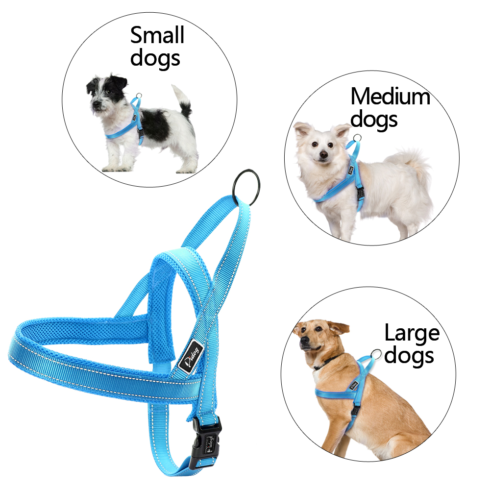 Image 4 - No Pull Reflective Dog Harness Leash Set Pet Vest Lead For Small Meduim Large Dogs Perfect for Daily Training Walking XXS L-in Harnesses from Home & Garden