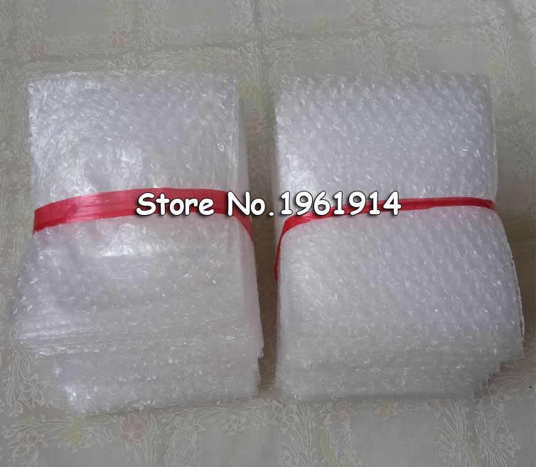 15*20 Cm 50 Stuks Bubble Zakken 10 Mm Beschermende Materiaal De Embalaje Wrap Laser Cut Craft Transparante Bubble verpakking Film