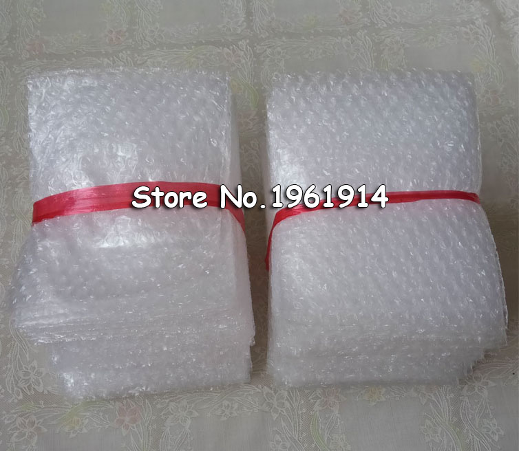 8*10cm 50Pcs Cushioning Bubble Bags Bubble Protective Wrap Bolsa Burbuja Packaging Foam Packing Verpackungen Schaum 15*20cm 10*1