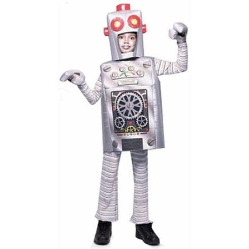 Kids Robot Child Funny Halloween Costume For All Age