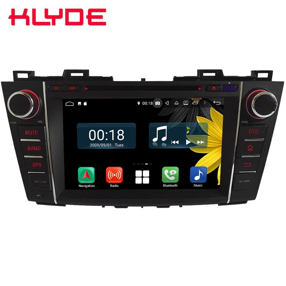 8 Octa Core 4G Android 8.1 4GB RAM 64GB ROM Car DVD Multimedia Player Radio Head Unit GPS Glonass For Mazda 5 Premacy 2007 2013