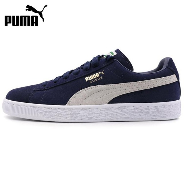 Original New Arrival 2018 PUMA Suede Classic + Unisex Skateboarding Shoes  Sneakers-in Skateboarding from Sports   Entertainment on Aliexpress.com  ec2f443205e6