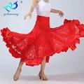 Square Dancing Long Skirts Large Swing Ballroom Dance Skirt Modern Social Dance Skirt Stage Waltz Dancewear Latin Skirt