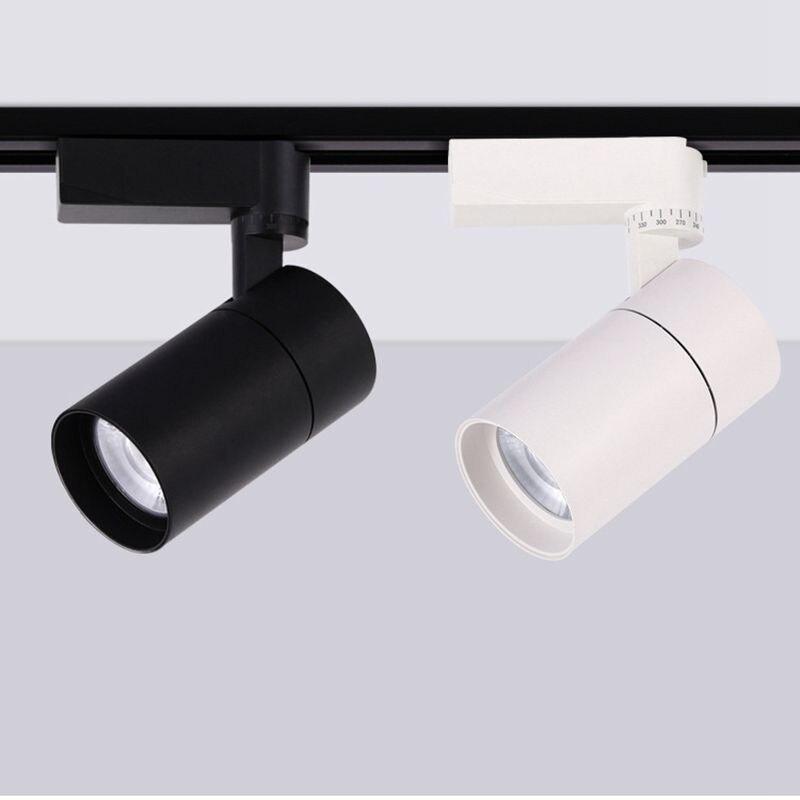 LukLoy Led 調節可能な照明角度トラックスポットライト衣料品店 30 ワット天井ダウンライト COB ウォールマウントモール照明
