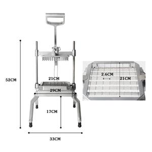 Image 4 - ITOP Machine commerciale manuelle de découpe pour légumes et fruits, trancheuse, broyeur, coupeur, outil de cuisine, processeur alimentaire