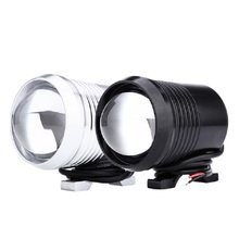 2pcs LED Motorcycle Headlight Waterproof Spot Headlight Motorbike Fog Lamp Bulb U2 1200LM 30W with Swith(China)