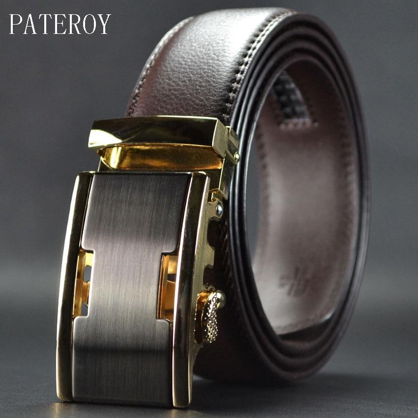 Paterory 2017 Novi muški remeni kožni remen za muškarce Luksuzni - Pribor za odjeću