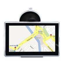 5 pouce De Voiture GPS Navigation Sat Nav CPU800M Wince6.0 + 128 M/8 GB + Transmetteur FM + Multi-langues + Livraison dernières Cartes
