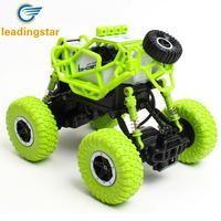 LeadingStar 1 43 4WD RC Off Road Vehicles With Lights 2 4G Charging Climbing Car Toys
