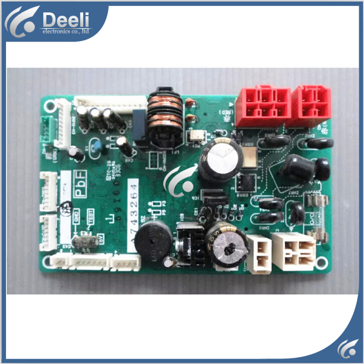 95% new good working for air conditioning motherboard control board A743264 Computer board