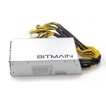 bitcore 6PIN* 10 Antminer APW3++-12-1600-A3, 1600 Вт блок питания bitmaster APW3++ PSU серии, ETH PSU, antminer S9 S7 L3 PSU