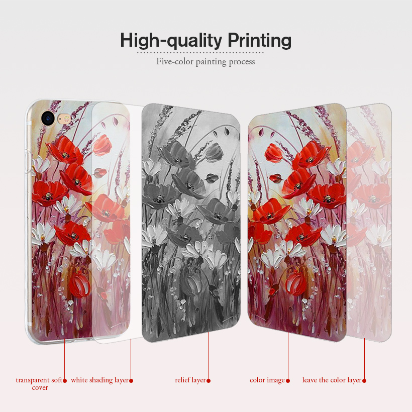 Image 4 - Case For Alcatel U5 3G 4047 4047D 4047Y Soft TPU Silicone Cover For Alcatel U5 3G 4047 4047D 4047Y 5.0 inch Phone Cases Bumper-in Fitted Cases from Cellphones & Telecommunications