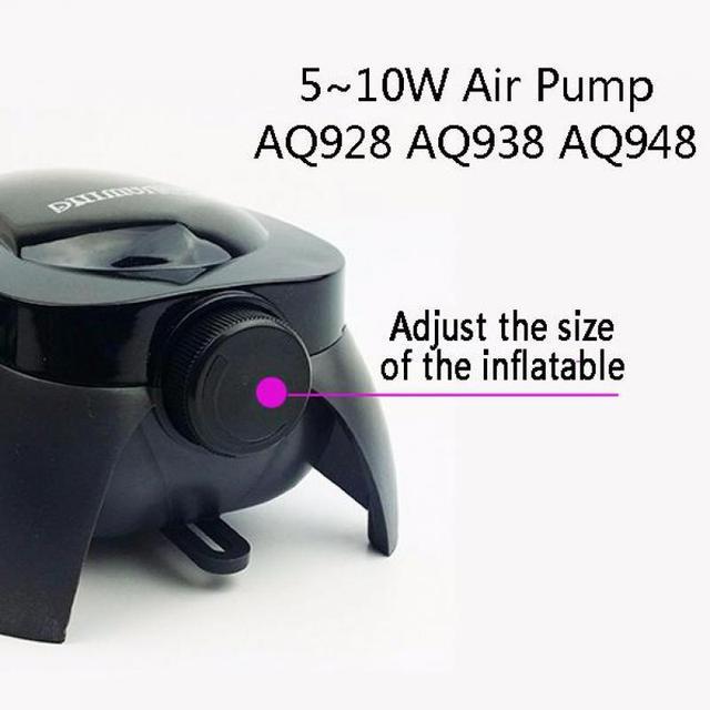 Aquarium Adjustable Air Pump Increase Oxygen For Fish Tank Air Flow Control Aquarium Accessories With Air Stone Check Valve Tube