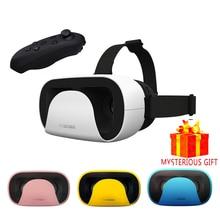 Стерео шлем VR коробка Google cardboard видео gerceklik 3 D gerceklik виртуальной реальности очки VR 3D Очки шлем смартфон len