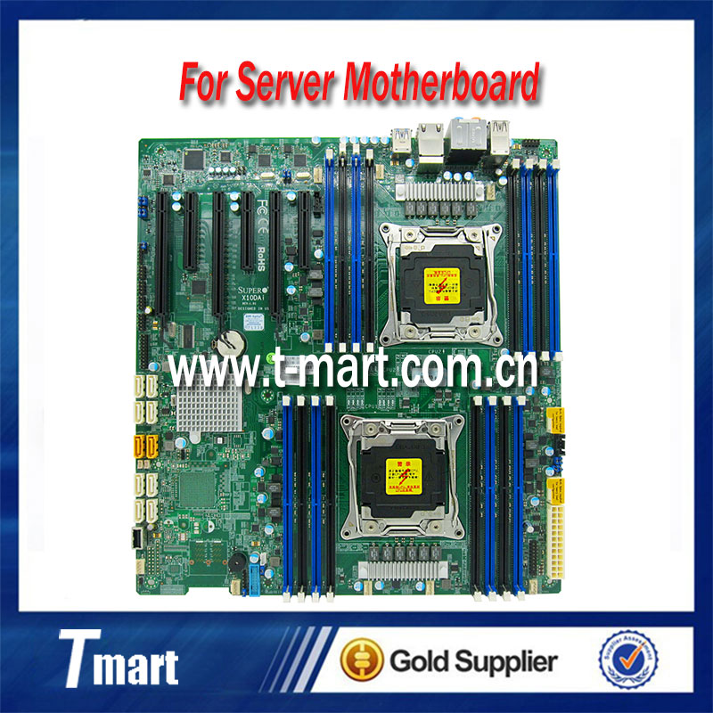 100% working server motherboard for Supermicro X10DAi C612 LGA2011-3 DDR4 system mainboard fully tested