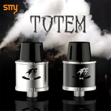 บุหรี่อิเล็กทรอนิกส์SMY Totem RDA Clearomizerฉีดน้ำหยดสำหรับEมอระกู่ควันสมัยกล่องVS Kayfun V4 Taifun GT 2เครื่องฉีดน้ำX9027