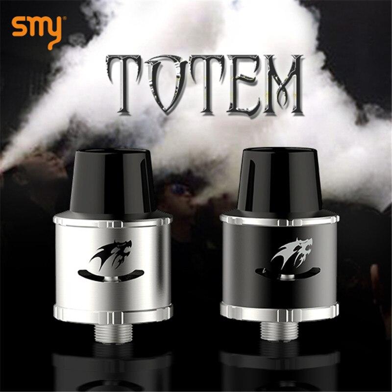 Electronic Cigarette SMY Totem RDA Clearomizer Drip Atomizer for E Hookah Smoke Box Mod VS Kayfun