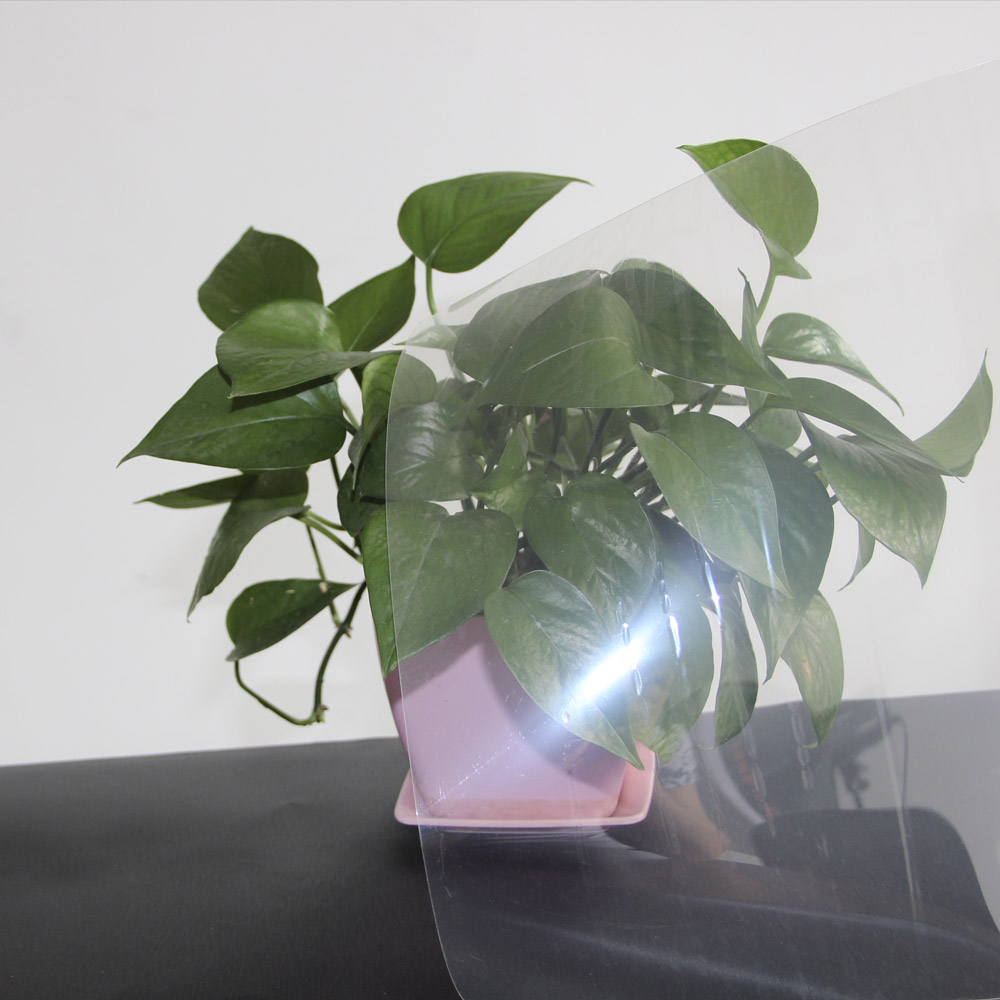 1.52x10m transparent safety film 12mil security window film