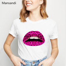 vogue Lipstick makeup t shirt women Pink Gay Love Lesbian lips t-shirt femme harajuku summer tops tshirt female streetwear