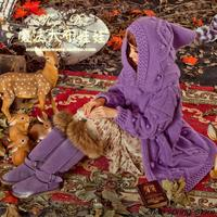 Кардиганы для женщин 2016 ручной работы свитер зима магия ткань Куклы и оригинальные Корейская версия сыпучих лес сладкий длинный вязаный