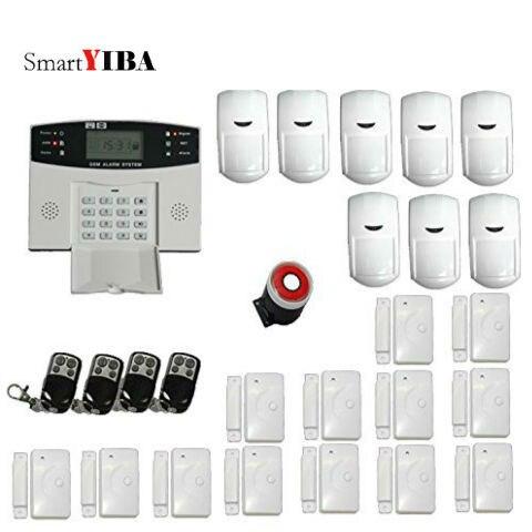 SmartYIBA alarme sans fil GSM Signal Automatique Numérotation SMS Alerte Soutien 2G SIM système d'alarme antivol GPRS détecteur de mouvement