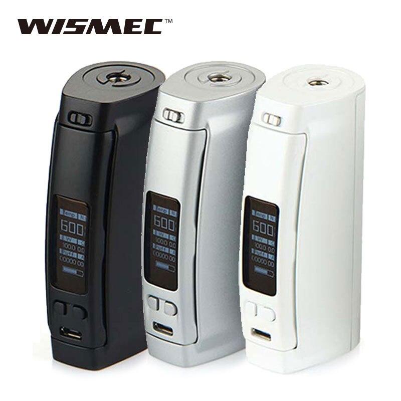 100% Original WISMEC Presa TC 100W Temp Control Mod E cigarettes Vape MOD for Replaceable 26650/18650 Battery Without Battery