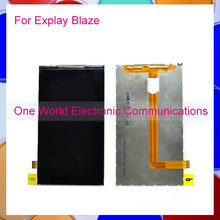 One World 1pcs/lot High Quality For Explay Blaze LCD Display Screen Panel Digitizer Replacement Free Shipping + Tracking Code