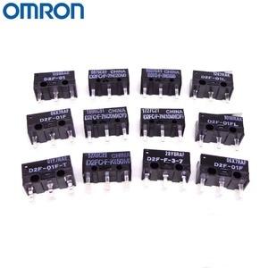 Image 5 - 10PCS OMRON mouse micro switch D2FC F 7N 10m 20m OF D2FC F K(50M) D2F D2F F D2F L D2F 01 D2F 01L D2F 01FL D2F 01F T D2F F 3 7