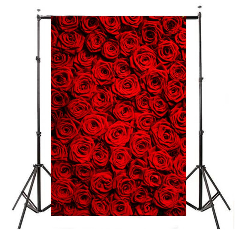 5x7ft Vinyl Valentine's Day Photography Background For Studio Photo Props Photographic Backdrops cloth 1.5x2.1m rain