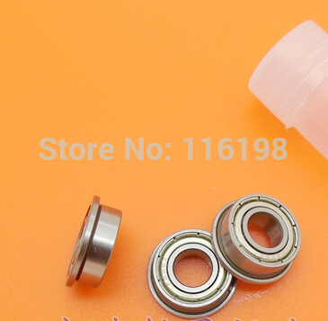 10pcs F696ZZ F696 DDRF-1560ZZ RF-1560ZZ deep groove ball bearing 6*15*17*5*1.2mm miniature bearing with flange abec 5 10pcs 696zz 6x15x5 mm miniature ball bearings 696 thin wall deep groove ball bearing 6962z 6 15 5mm fo 6mm shaft
