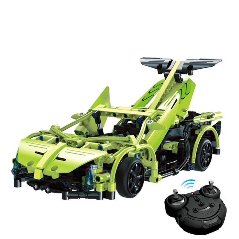 Technic RC Car Electric Power Function Remote Control Veneno Car Building Blocks Bricks Toy Cars Model