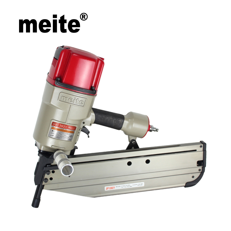 цена на Meite SF13021 21 degree clipped head pneumatic strip air framing nailer gun pneumatic tools Sep.3rd Update tool