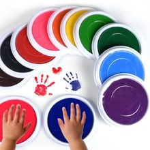Souvenir Baby Care Non-Toxic baby handprint footprint Imprint hand casting kit Newborn inkless ink pad Infant baby toys Gifts(China)
