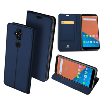 Original DUX DUCIS Leather Case For Asus Zenfone 5 Lite ZC600KL Case Luxury Flip Wallet Cover
