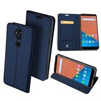 Original DUX DUCIS Leather Case For Asus Zenfone 5 Lite ZC600KL Case Luxury Flip Wallet Cover