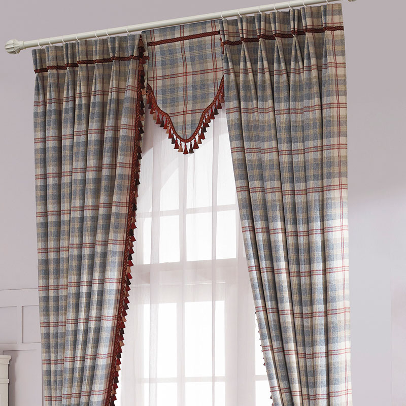 tartan large white and for danagilliann plaid red drapes kitchen me curtains image