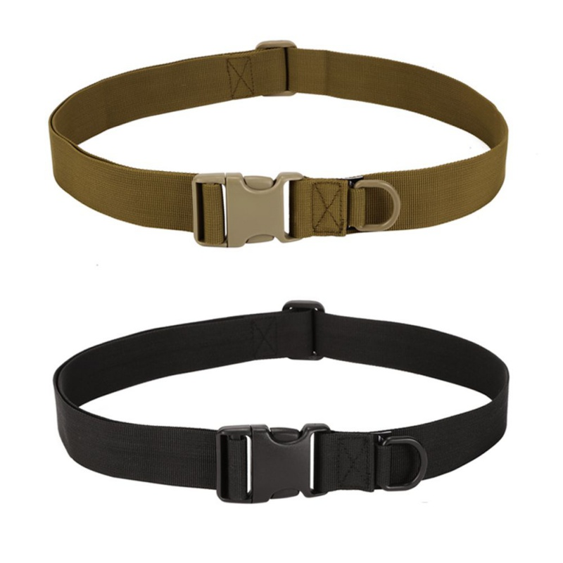 Hot Sales Simple Tactical Belt Equipment Wear Bag Riding Inside Nylon Bag Deputy Military Fans Belt Fastening Tape Apparel Accessories