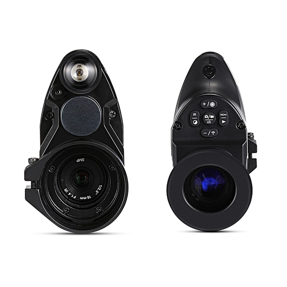Image 3 - Free Shipping PARD NV007 200m Infrared Night Vision Telescope Hunting Night Vision Set Sight Digital IR Monocular Rifle scope-in Hunting Cameras from Sports & Entertainment