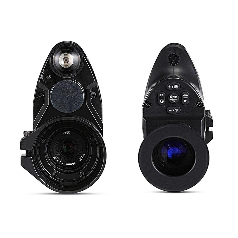Image 3 - Бесплатная доставка Pard NV007 цифровой охотничий прицел ночного видения Wifi приложение Telesopes 5 Вт ИК инфракрасный прицел ночного видения-in Камеры для охоты from Спорт и развлечения