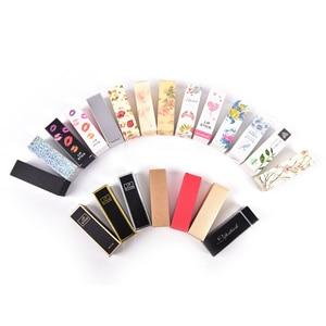 Image 2 - Caja de cartón de Tubo de bálsamo labial embalaje DIY lápiz labial