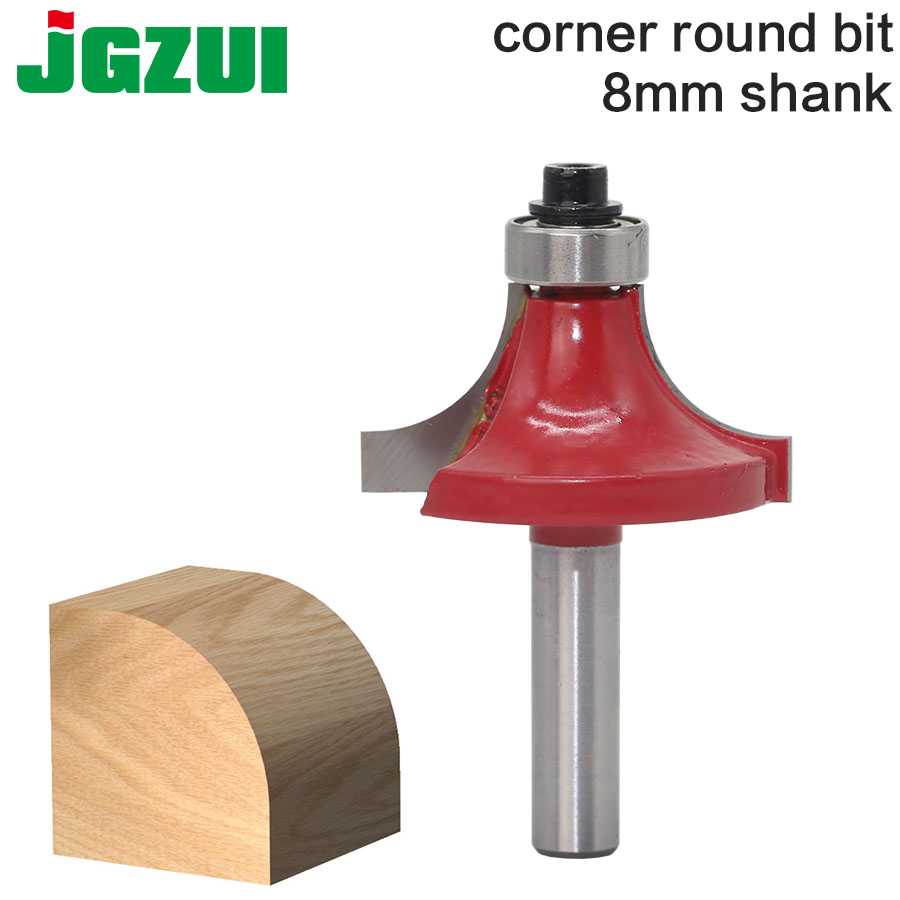 1pcs Milling Cutter Router Bit Set 8mm Wood Cutter Carbide Shank Mill Woodworking Engraving Cutting Tools