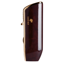 Cohiba Metal Gas Butane 3 Torch Jet Flame Cigar Lighter With Punch Cigarette Windproof Lighters Gift Box CB-0307