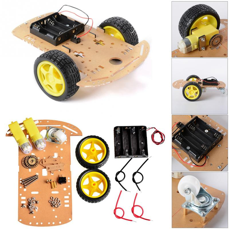 2018 New Arrival Smart Robot Tank Chassis Tracked Car Platform with 2WD Motor for Arduino DIY Robot Toy Part tank robot diy chassis smart track with two carbon brush motor for arduino stainless steel tanks t100
