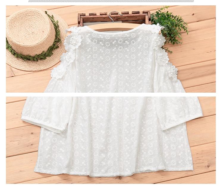 discount shoulder white cotton 3