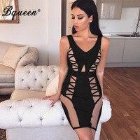 Bqueen 2017 New Arrival Sexy Mini Slash Neck V Neck Fashion Off Shoulder Summer Women Lady