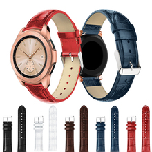 Suitable for Samsung Galaxy Watch 42mm/46mm Leather Strap Crocodile with Wrist