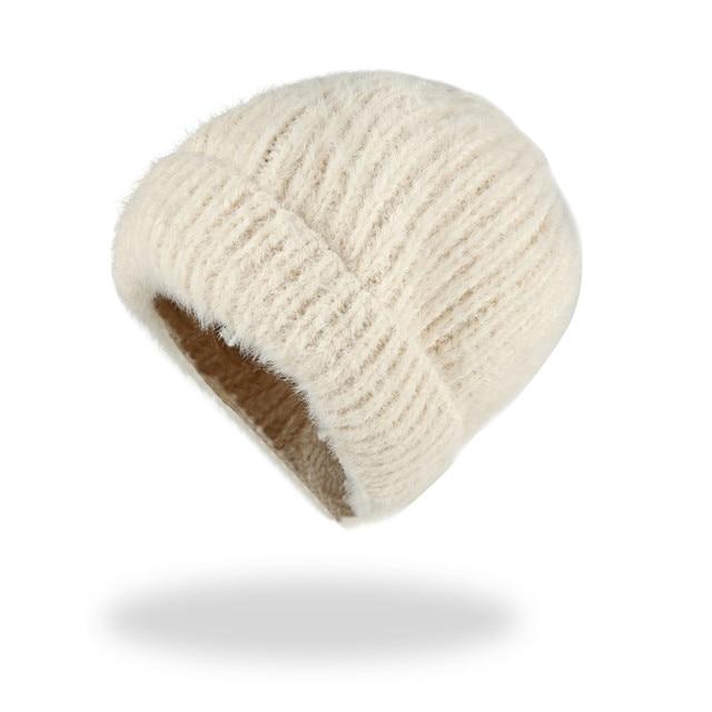 fa7995997f64c7 Купить Аксессуары   Xthree winter knit cap beanie hat for women ...